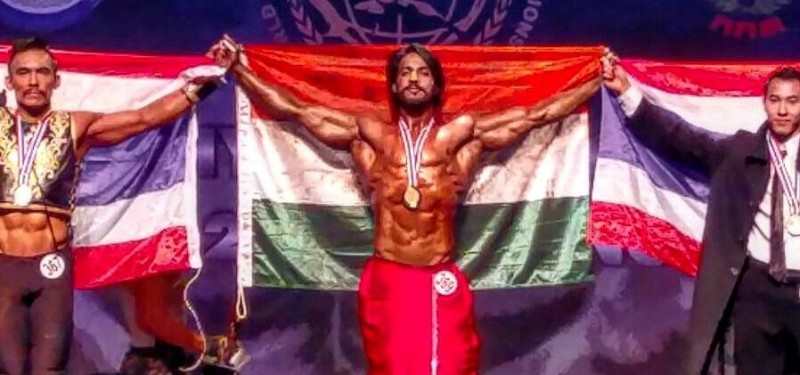 India's Thakur Anoop Singh wins gold at World Body-Building Championship