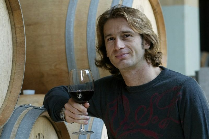 Jarno Trulli Wine making