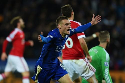 Jamie Vardy breaks Premier League record as Leicester City draw 1-1 with Manchester United