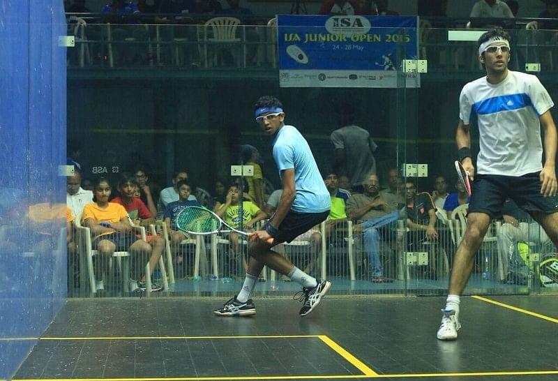Velavan and Akansha win double crowns in Western Indian squash