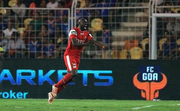 Victor Mendy - record goalscorer from Azerbaijan Premier League nets first goal in ISL, keeps NE United afloat