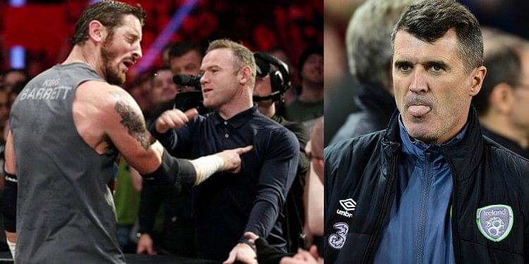 After Wayne Rooney fiasco, WWE star Wade Barrett now targets Roy Keane