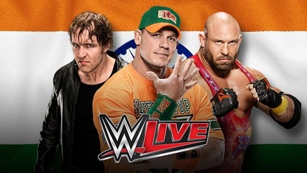 Wrestling fans rejoice, WWE live in India!