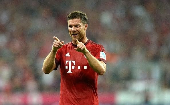 Video: Xabi Alonso scores incredible curler from behind the goal