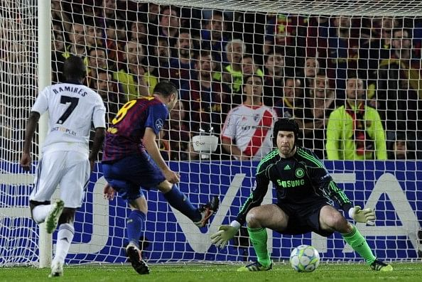 Petr Cech will fear Iniesta more than Messi when Arsenal face Barcelona in the Champions League