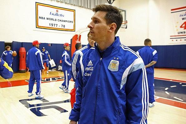 Messi pays tribute to Kobe Bryant on Instagram
