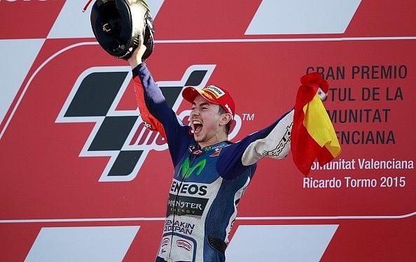 3-time MotoGP champion Jorge Lorenzo in India to promote motorsports