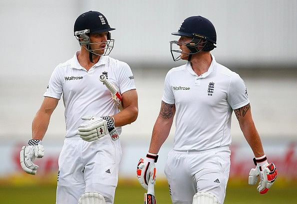 Nick Compton, James Taylor rescue England on rain-hit Day 1 after Dale Steyn uproots top order