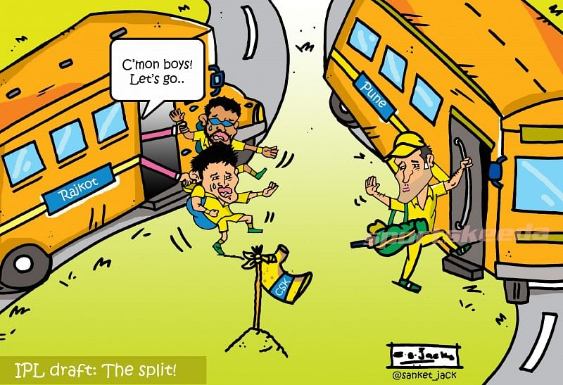 Comic: IPL Draft - The Split!