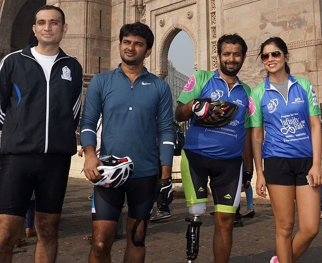 Cycling from Delhi to Mumbai with one leg: Interview with para-cyclist Aditya Mehta