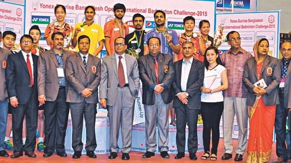 Indian shuttlers claim 3 titles at Bangladesh Open