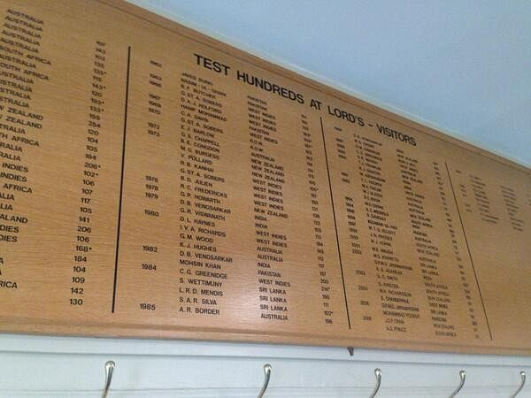 5 surprising names to feature on the Lord's honours board