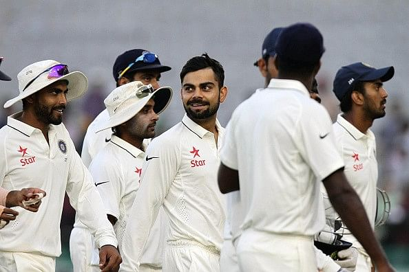 2015 player ratings for Indian players in Tests