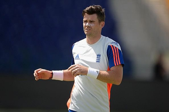 Anderson ruled out of the Durban Test