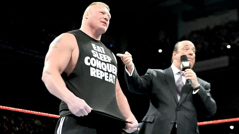 brock lesnar vs sheamus announced for wwe live event