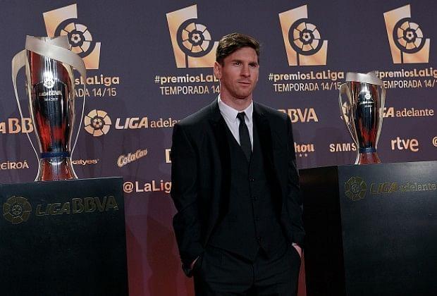 Lionel Messi wins Best Player of La Liga award