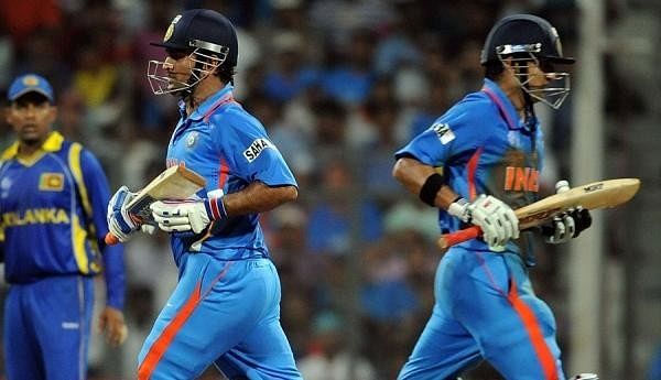Gautam Gambhir responds to rumours that he snubbed MS Dhoni handshake