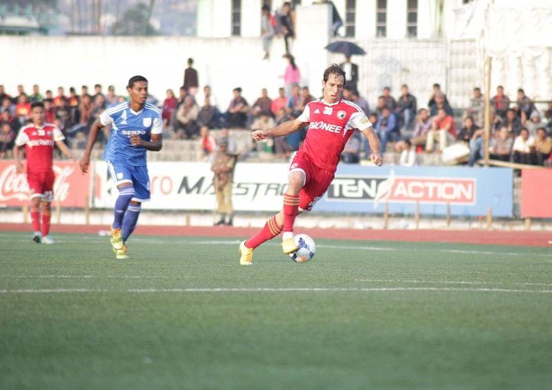 I-League: Shillong Lajong re-signs striker Uilliams Bomfim Souza