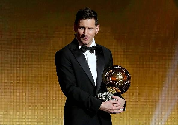 Lionel Messi beats Cristiano Ronaldo and Neymar to win 2015 Ballon d'Or, Carli Lloyd is Women's Player of the Year