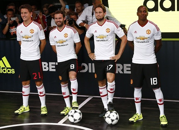 Adidas are unhappy with Manchester United's style of football under Louis van Gaal