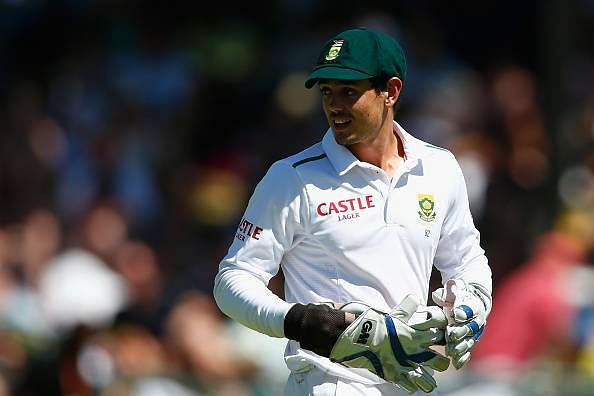 Quinton de Kock ruled out of the 3rd Test after freak injury, replacement Dane Vilas races against time