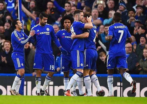 FA Cup: Chelsea win at home and Tottenham draw with Leicester while Oxford United stun Swansea City
