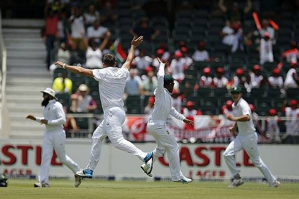 Stats: Hardus Viljoen takes wicket with first ball of Test career, joins elite list
