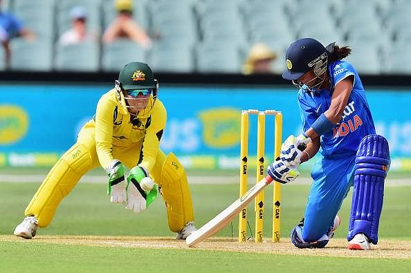 Harmanpreet Kaur stars as India beat Australia in first women's T20I
