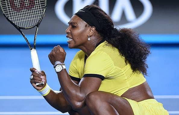 Serena Williams in finals of Australian Open 2016