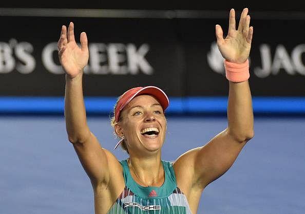 Angelique Kerber upsets Serena Williams to lift Australian Open trophy