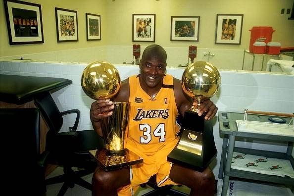 Shaquille O'Neal to be honoured by the Lakers with a statue at Staples Center