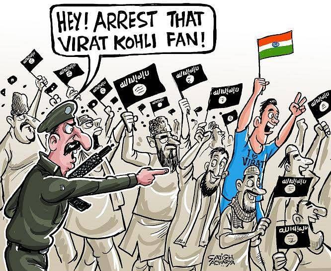Comic: Virat Kohli fan arrested in Pakistan