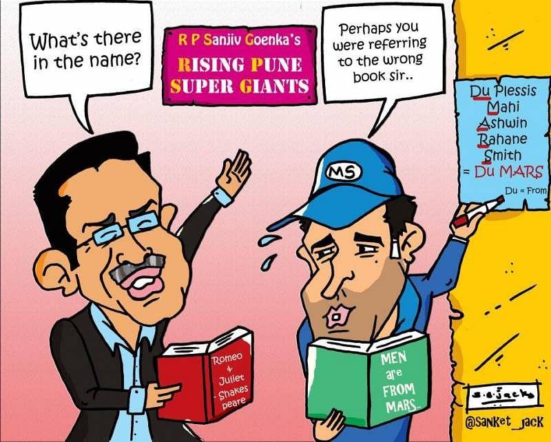 Comic: Pune IPL team named!