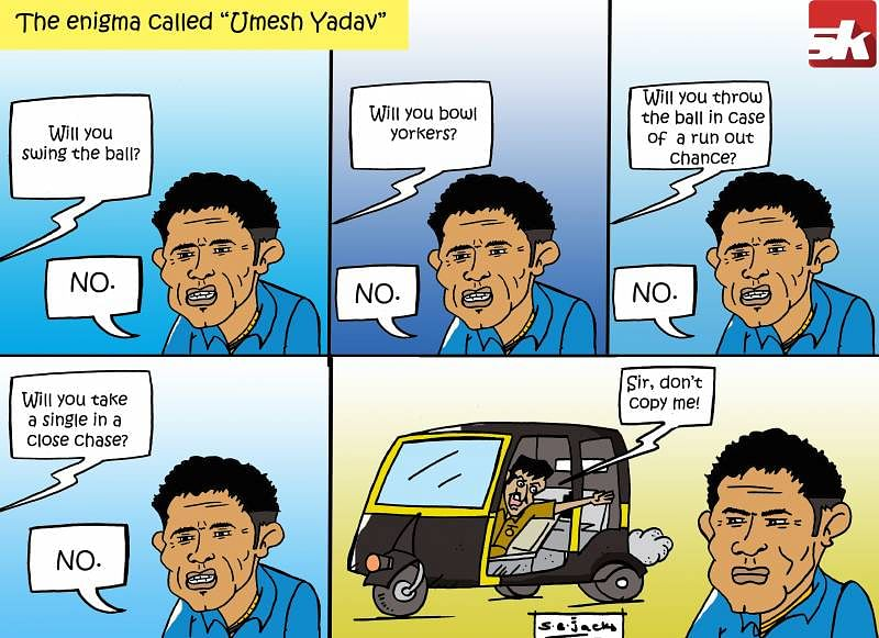 Comic: The enigma called Umesh Yadav