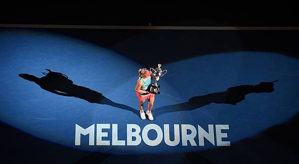 Australian Open diary: Angelique Kerber and Serena Williams, or the improbable virtue of belief