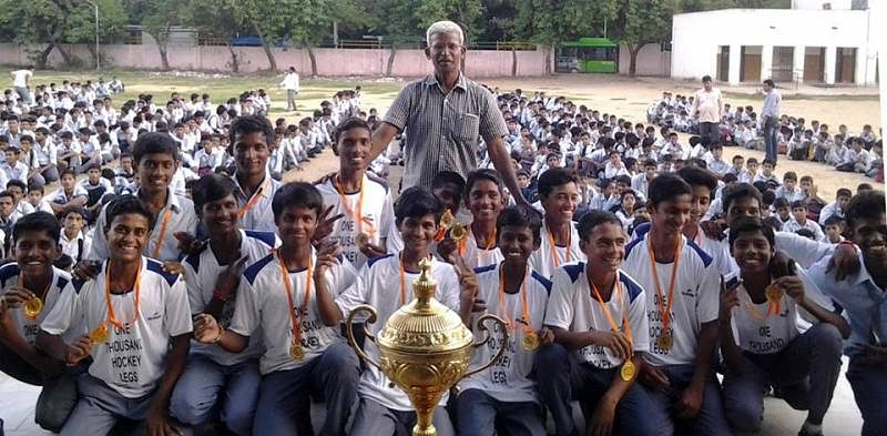 Interview with K. Arumugam, the man who quit his high-paying job to teach hockey to underprivileged kids