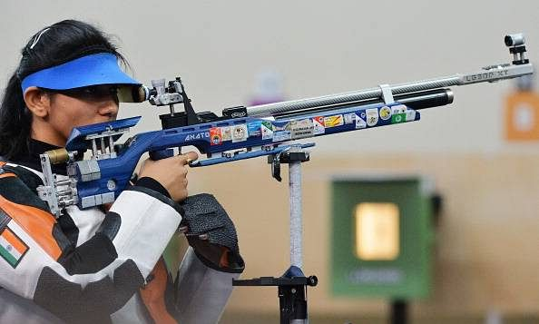 Ayonika Paul clinches India's 11th quota in shooting; wins silver in the Women's 10m Air Rifle