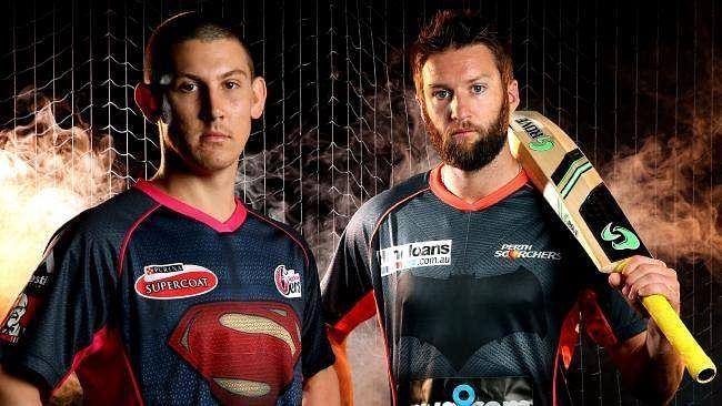 Two BBL teams pay tribute to Batman v Superman