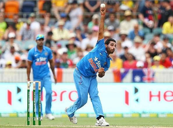 Bhuvneshwar Kumar out of T20I series; Gurkeerat named cover for Rahane