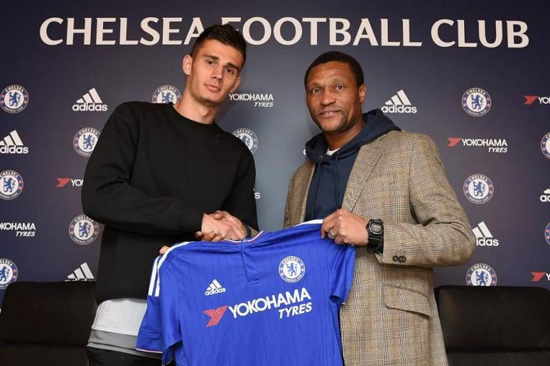 Chelsea sign 20-year-old American defender Matt Miazga as youth players question signing