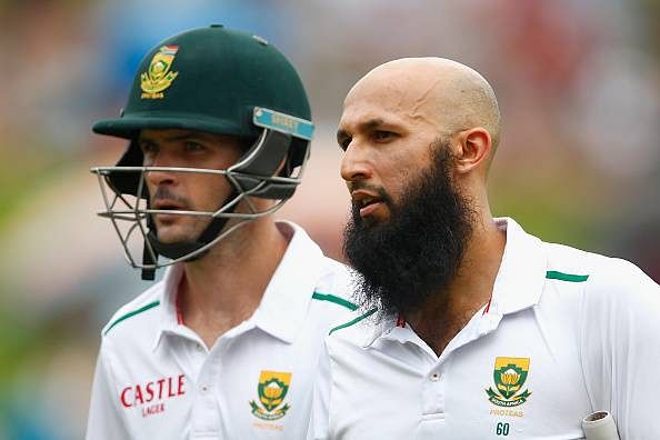 South Africa v England, Day 1: England fight back in last session after batting performances from Amla and Cook