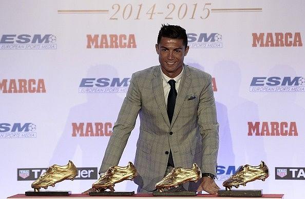 Most European Golden Shoe awards - 5 Cristiano Ronaldo records that won