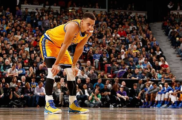 Stephen Curry wears football shin guards to bring out his 'Lionel Messi mindset'
