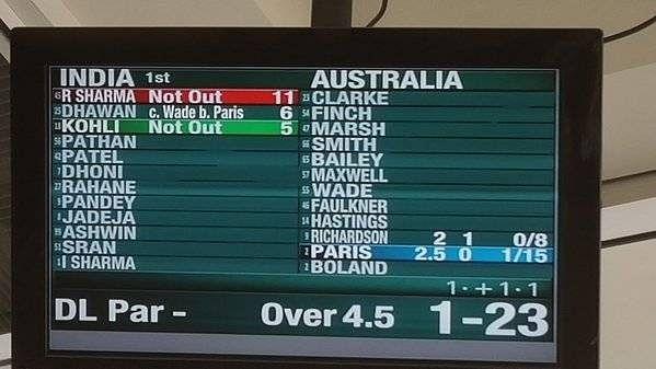 Michael Clarke, Irfan Pathan make international cricket comeback thanks to scoreboard error