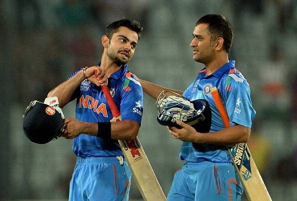 Indian legends feel it's time for MS Dhoni to make way for Virat Kohli