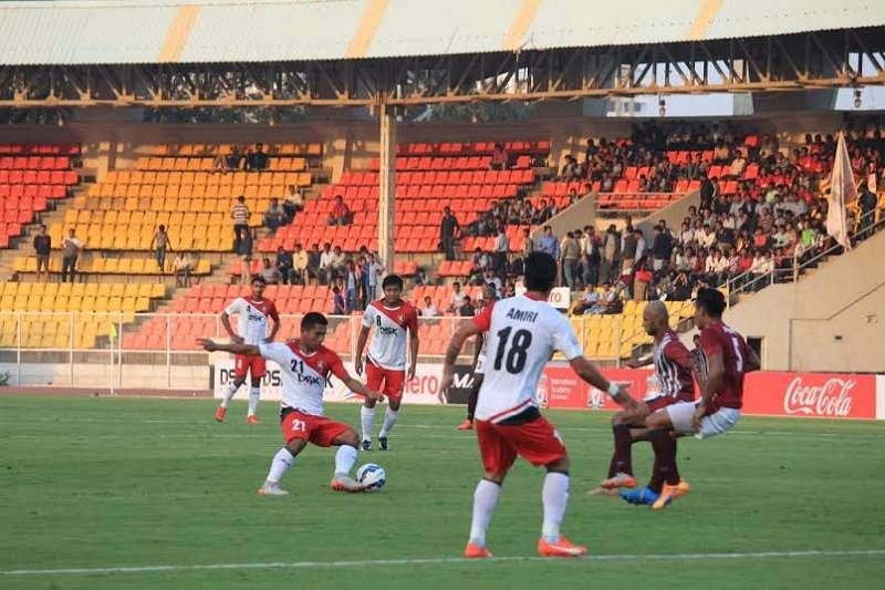 DSK Shivajians' spirited performance yields no result, lose to Mohun Bagan 2-0