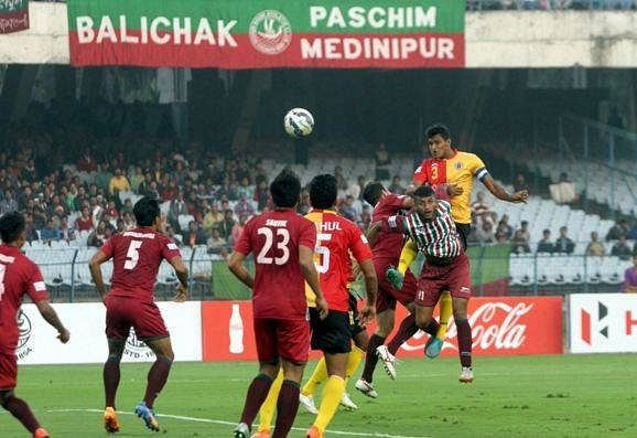I-League: East Bengal and Mohun Bagan play out hotly contested 1-1 draw