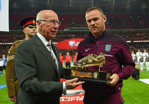 Wayne Rooney voted England Player of the Year for 2015