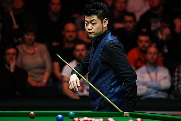 John Higgins beats Liang Wenbo at the Snooker Masters