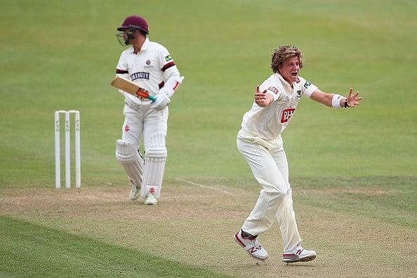 Sussex fast bowler Matthew Hobden dies aged 22